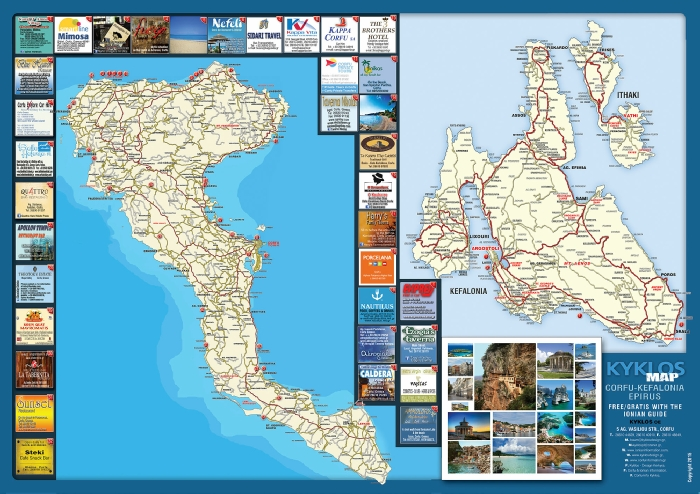 Ionian Guide Map